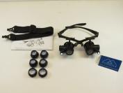 Glasses Magnifier LED Double Eye 10X 15X 20X 25X Dental Medical Jeweller FORZA4