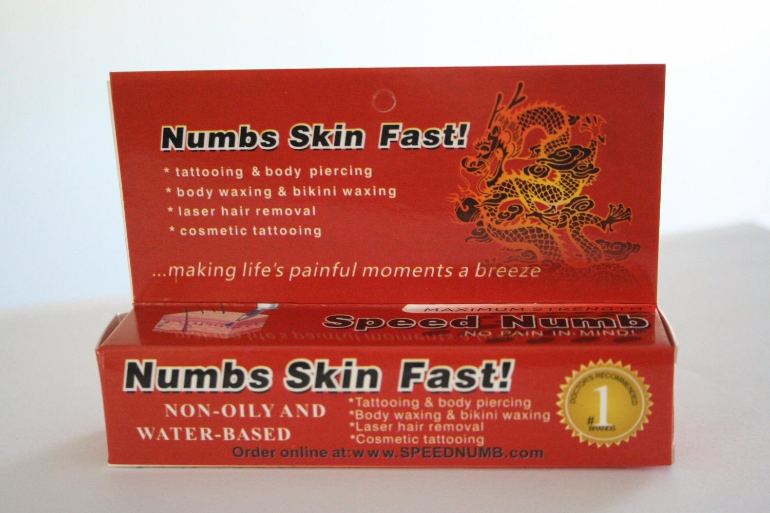 2pk Speed Numb Tattoo Numbing Cream 10g/tube by Speed Numb - Shop ...