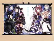 Home Decor Anime Seraph of the End Yuichiro Hyakuya Scroll Poster Fabric Painting 23.6*45cm 45
