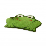 Antislip Bath Rugs Frog Pattern 70cm x 46cm