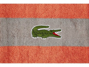 Lacoste Signature Croc Bath Towel Nectar