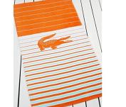 Lacoste Skipper Mandarin Orange Beach Towel (36x72) T15109r2843672
