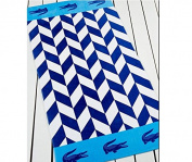 Lacoste Bay Blue Beach Towel (36x72) T15102b263672