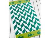 Lacoste Bay Sea Green Beach Towel (36x72) T15102g1913672