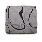 Ilyzone High Quality Memory Foam lumba Cushion with chaotic pattern