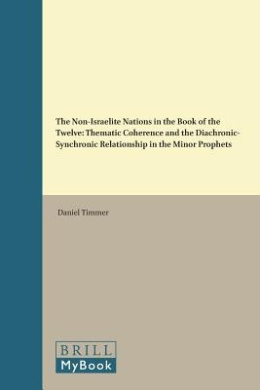 The Non-Israelite Nations in the Book of the Twelve: Thematic Coherence and the Diachronic-Synchronic Relationship in the Minor Prophets (Biblical Interpretation Series)
