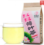 Helen Ou@ 60小包 Lotus Leaves and Roses Herbal Tea Combination for Your Daily Drink and Dear Beauty and Cool Summer 150g160ml/0.33lb Including 60 Small Bags