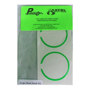 Axcel X-41 Scope - Precision Archery Reticles - Scope Ring Mask - Green