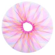 Anleolife 30cm Rainbow Colourful Tutu Skirt Baby Girls Fluffy Tutu Skirt Girls