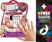 """Ever After High """"Royal"""" 3D Velvet Nail Kit + 1 FREE Mini-Tapeffiti Bundle [321152]"""