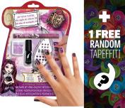 """Ever After High """"Rebel"""" 3D Velvet Nail Kit + 1 FREE Mini-Tapeffiti Bundle [321169]"""