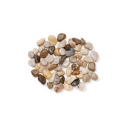 Natural River Pebbles- Smooth - For Creating Pathways for Fairy Gardens, Gnome Villages or Using for Vase Fillers or Table Scatters - Approximately 2.4kg.