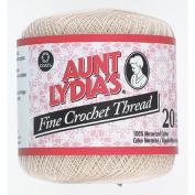 Aunt Lydia'S Fine Crochet Thread, Natural, 400 Yds - 3 Pkgs
