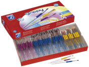 Colour Co. 144 Piece Grippy Paintbrush Kit