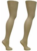 2 Free Standing Female Mannequin Leg Sock and Hosiery Display Foot 70cm Tall or Christmas Leg Lamp