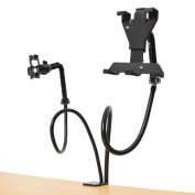 Thanko 2-in-1 Clamp-on Dual Gooseneck Holder Stand DUASMT2B