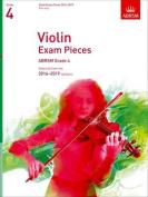 Violin Exam Pieces 2016-2019, ABRSM Grade 4, Part