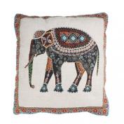 Doinshop New Elephant Cushion Cover Home Car Bed Sofa Pillow Case