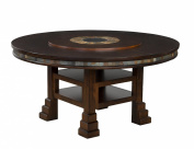 Sunny Designs Santa Fe Round Table with Lazy Susan, 150cm