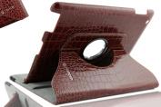 SANOXY 360 Rotating Swivel Smart Premium Vegan PU Leather Case + Smart Cover + Stand for iPad 2/3/4