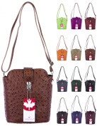 BERNSTYN Women's Lady Carla Cross-Body Bag brown cognac