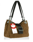 BERNSTYN Women's Wild Lady Shoulder Bag hellbraun_schwarz