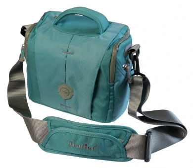 Jealiot SLR Camera Case For Canon EOS 750D, 760D, 8000D, Rebel T6i, T6s, Kiss X8i, Plus Up To Two Additional Lenses And Accessories - Turquoise