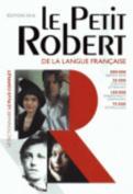 Petit Robert Langue Francaise Dictionnaire: Monolingual French Dictionary [FRE]