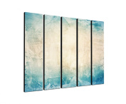 Texture Grunge Structure 5 x 30 x 120 CM XXL extra Large 5-Piece Picture on Canvas and Stretcher Frame, Ready to Hang-Our Images on Canvas captivate with their unusual formats and extremely detailed print from up to 100 Mega Pixel High Resolution photos.