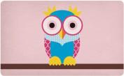 "Retro Breakfast Board with ""Good Life Owl Owl (A) 14.5 x 23.5 CM"