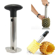 fenrad® High Quality Stainless Steel Fruit Pineapple Corer Slicer Peeler Parer Cutter Kitchen Tool