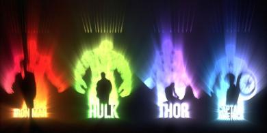 Avengers Inverted - Canvas Wall Art Print