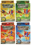 4 x Assorted Build Your Own Transformers Robot Car Changers