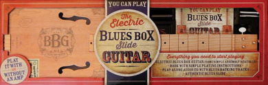 The Electric Blues Box Slide Guitar Kit: With Guitar, Instruction Book and DVD