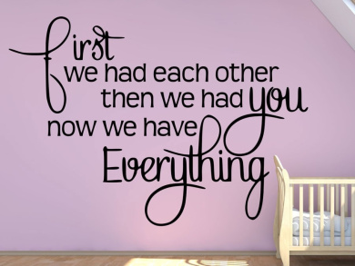 Now We Have Everything - Canvas Wall Art Print
