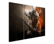 Picture - ART ON CANVAS PRINT Assassins_Creed_14 3 parts ( 120cm x 90cm ) Pictures completely framed on large frame. Art print Images realised as wall picture on real wooden framework. A canvas picture is much less expensive than an oil painting post ..