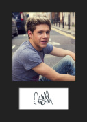 Niall Horan One Direction #3 Signed Mounted Photo A5 Print