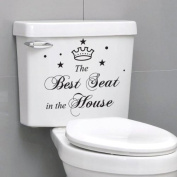 """He Yang """"Laundry Today"""" English Proverbs Simple Elegant Wall Stickers Decor Living Room Wall Stickers Décor"""