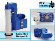 Dudley Turbo 88 20cm 2 part Dual Flush Syphon WC Cistern DIY Toilet Repair