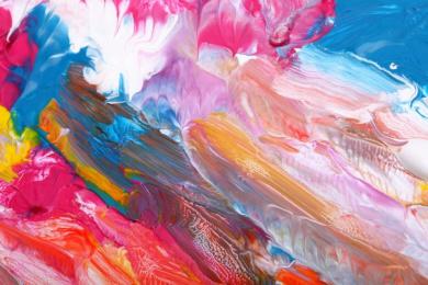 Abstract Paint - Canvas Wall Art Print
