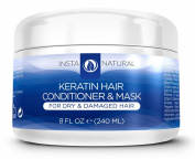 Keratin Complex Hair Conditioner & Mask - The BEST Home Treatment for Dry & Damaged Hair - Packed With Organic Ingredients Like Argan Oil, Jojoba Oil, Aloe, Coconut Butter + More! - A Smoothing, Strengthening & Conditioning Professional Formula - Have ..