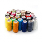 Sonline 24 Assorted Colours Polyester Sewing Thread-Pack of 24