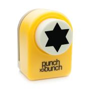 Medium Punch - Star of David