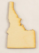 CMID Idaho State Cutout Size:Small 7.6cm x 13cm (Package of 10) Thickness:0.3cm Baltic Birch Plywood