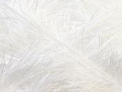 Large 100 gramme Skein Optical White Eyelash Yarn Fun Fur 164 Yards