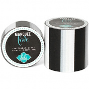 Heidi Swapp Marquee Love Washi Tape 5.1cm -Black Stripe, 2.7m