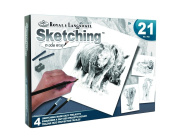 Royal Brush Zoo Animals Sketching Kit