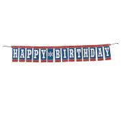 First Birthday Cowboy Banner