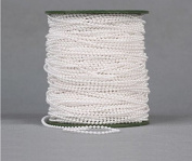 Joinwin® 120M 1 Roll 3mm white round beads garland spool faux pearl beads string on a roll