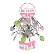 Cute as a Button Girl Cascade Centrepiece
